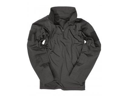 Triko (taktická košile) UBACS černé Miltec
