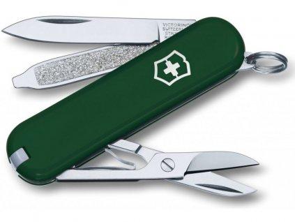 Victorinox Classic SD light pink kapesní zavírací nůž multifunkční green zelený