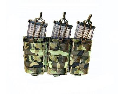 Pouzdro na tři zásobníky k CZ 805 BREN otevřené (sumka,molle,M4) SPM (71T1A) vz. 95 AČR