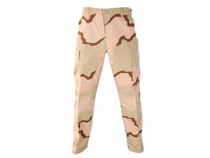 Kalhoty pouštní US desert 3 color originál ripstop nové operace Pouštní bouře