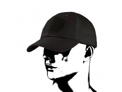 Čepice kšiltovka Baseball Tactical Mesh CMG černá