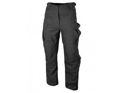 Kalhoty SFU ripstop černé Camo Military Gear