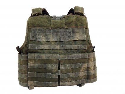 Taktická vesta,nosič plátů Warrior Assault Systems molle oliv