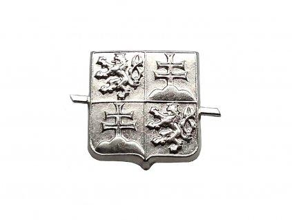 Odznak čepicový ČSFR stříbrný