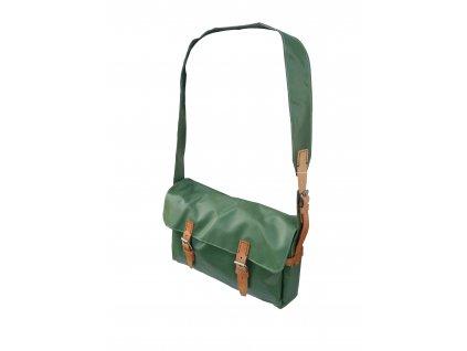 Brašna,taška Retro zelená
