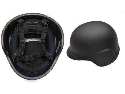Helma (přilba) kevlar M97 PASGT balistické ochrany IIIA černá