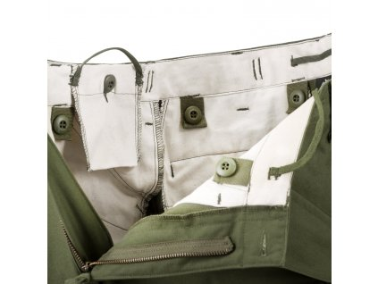 Kalhoty US M65 oliv Helikon SP-M65-NY-02