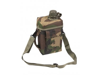 Polní láhev (čutora) Patrol US 2L woodland Miltec