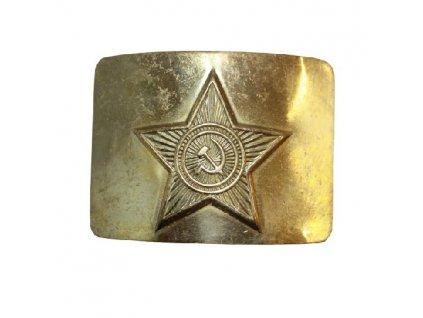 Spona na opasek zlatá Rusko originál