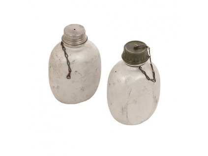 Polní láhev (čutora) Dánsko hliníková 1,2l originál