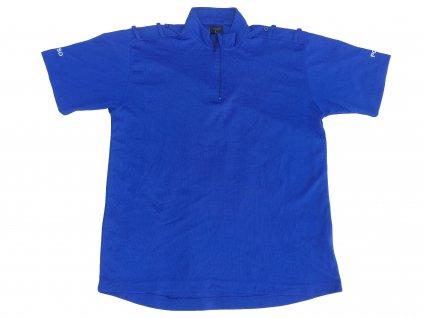 Triko funkční na zip Velká Británie Police PCSO krátký rukáv modré originál