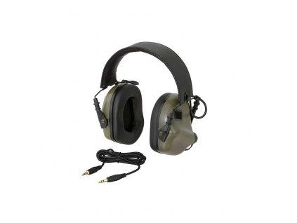 Aktivní chrániče sluchu EARMOR M31 MOD3 oliv