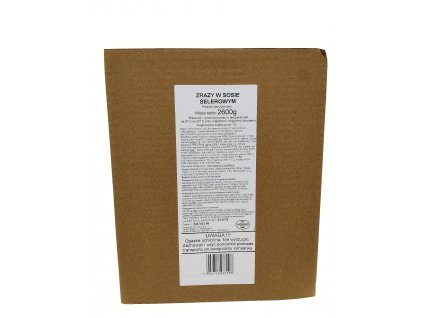 MRE 10 porcí závitky z mletého masa v celerové omáčce(bojová dávka potravy,MRE,BDP) Polsko