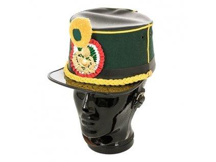 Slavnostní čepice brigadýrka kadeta Guardia di Finanza Itálie originál