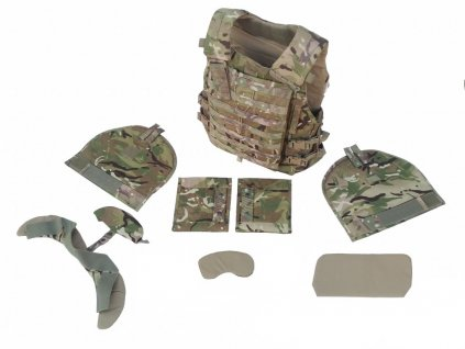 Vesta Virtus STV balistická kevlar Molle MTP Source Scalable Tactical Vest komplet