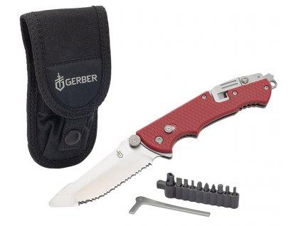 Gerber Hinderer Rescue multifunkční záchranářský nůž