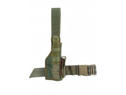 Pouzdro stehenní Eagle na pistol Holster originál woodland
