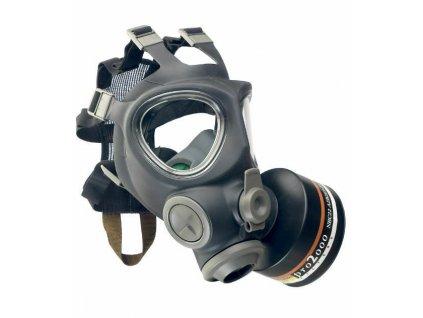 Plynová maska Military NBC 95 SCOTT s filtem