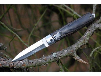 Nůž Kandar N-39 zavírací vystřelovací s pouzdrem
