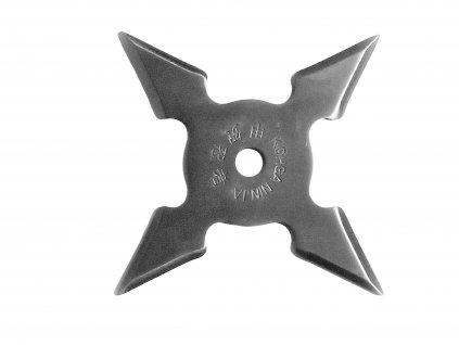 Vrhací (házecí) hvězdice Ninja 4 shuriken chrom