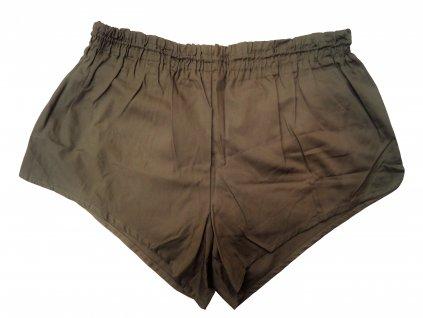 Rakouské armádní sportovní trenýrky (kraťasy, bermudy, šortky) khaki original