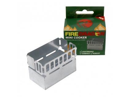 Mini vařič na gelové palivo Fire Dragon Velká Británie BCB