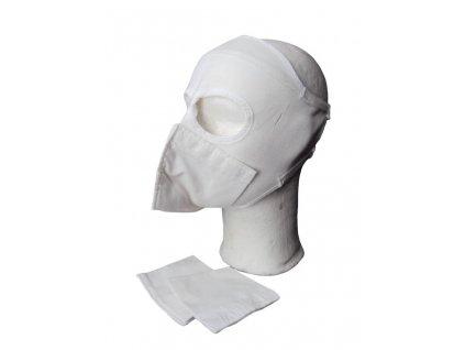 Obličejová maska (rouška) bílá originál Velká Británie Arctic MK2