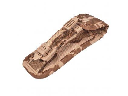 Pouzdro (sumka) na zásobník pistole pravé k MNS-2000 AČR vz. 95 Desert popruhy v potisku