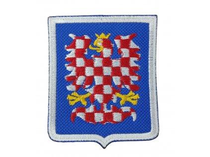 Nášivka Moravská orlice (A-33 modré pozadí)