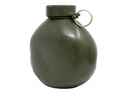 Polní láhev (čutora) hliníková M75 Maďarsko oliv 1l