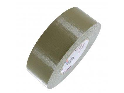Páska lepící Duct Tape voděodolná 55m x 48mm US oliv (Olive Drab) original