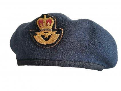 Baret britský RAF Royal Air Force Velká Británie šedý originál