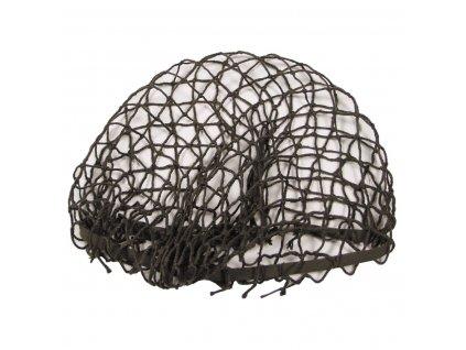 Rakouská síťka na helmu pro přídavné maskování  zánovní oliv