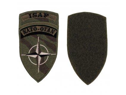 Nášivka NATO OTAN ISAF polní bojová originál velcro
