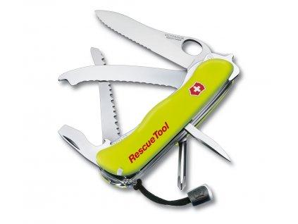 Victorinox RescueTool kapesní zavírací nůž s pilkou multifunkční záchranářský