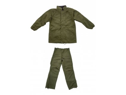 Protichemický oblek US oliv bez kapuce