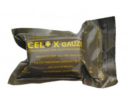 Celox gáza (Obvaz kapesní)