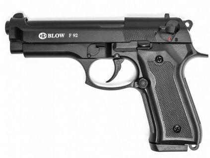 Plynová (expanzní) pistole Blow F92 Magnum (Beretta) černá cal.9mm P.A.