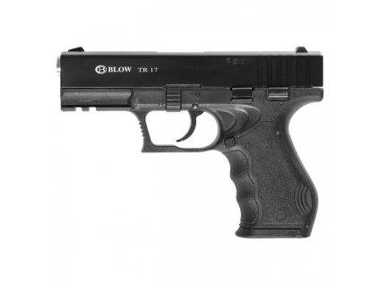 Plynová (expanzní) pistole BLOW TR 17 (replika Glock) 9mm PAK