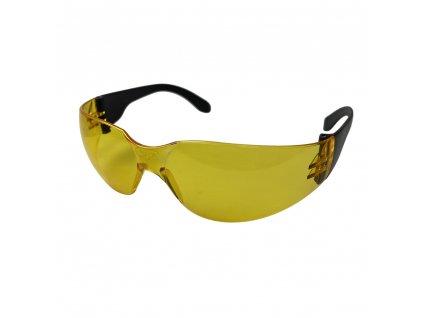 Ochranné brýle Arty 250 s polykarbonátovým zorníkem žluté ARTILUX