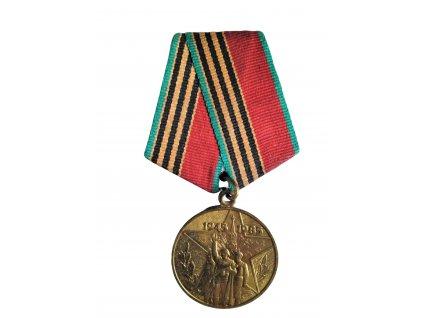 Medaile jubilejní 40 let od konce druhé světové války SSSR