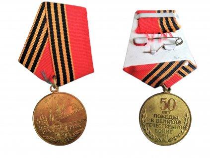 Medaile jubilejní 50 let od konce druhé světové války SSSR