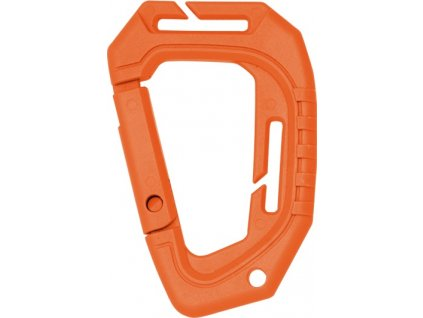 Karabina Tactical Molle ABS univerzální D-Link oranžová