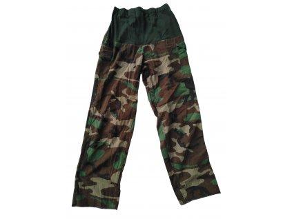 Kalhoty dámské těhotenské woodland originál použité
