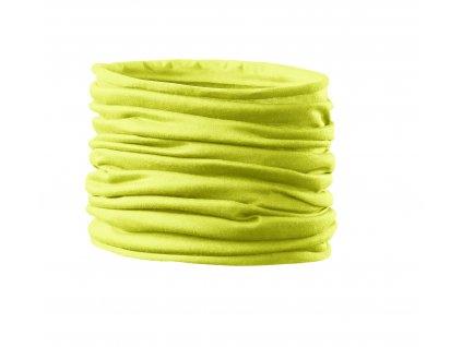 Nákrčník Twister yelow (žlutý) (multifunkční šátek)