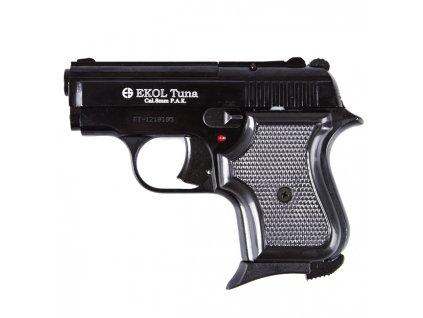 Plynová (expanzní) pistole dámská EKOL TUNA černá 8mm P.A.Knall