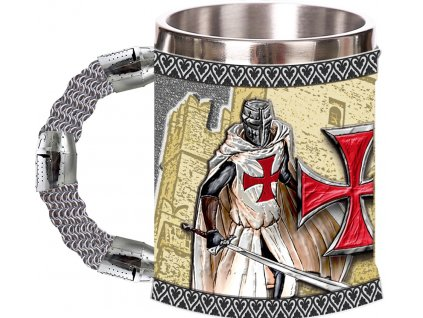 Hrnek (korbel) templářských rytířů Knight Templar 400ml