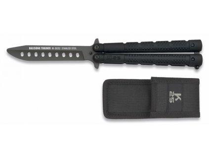 Nůž motýlek tréninkový RUI/K25 černý tréninkový 36252