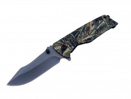Nůž polovystřelovací v maskovaní Hardwoods