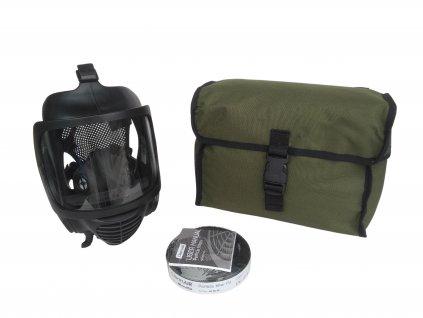 Plynová maska celoobličejová CM-6 s brašnou a filtrem